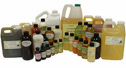 100% ORGANIC PURE NATURAL CARRIER OILS COLD PRESSED 16 OZ TO