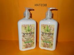 2 NEW HEMPZ SANDALWOOD & APPLE MOISTURIZER 17 OZ FREE SHIPPI