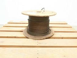 5/16in X 455ft 6x31g Hemp Center Steel Wire Rope Cable