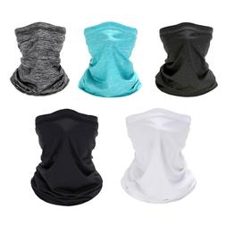Cooling Summer Thin Face Mask Neck Gaiter Motorcycle Riding
