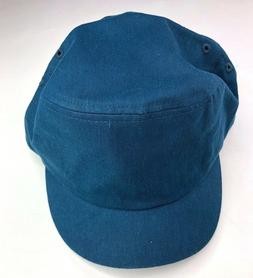 curtis cap teal hemp organic cotton hats