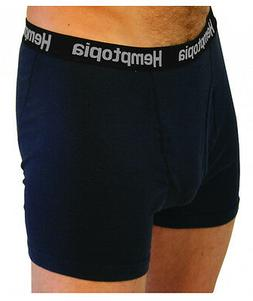 Hemp & Cotton Blend Mens Boxer Briefs Moisture Wicking Perfo