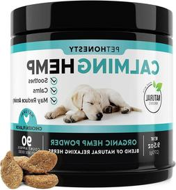 PetHonesty Hemp Calming Treats for Dogs - All-Natural Soothi