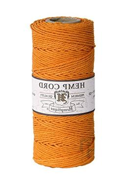 Hemp Cord Spool Variegated 20# 205'/Pkg-Red And White