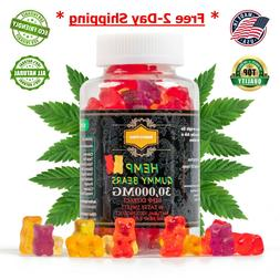 Hemp Gummies 30000mg For Pain, Anxiety & Stress Relief Made