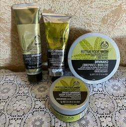 The Body Shop Hemp Hand & Foot Products - Lot of 4 - NEW!!!