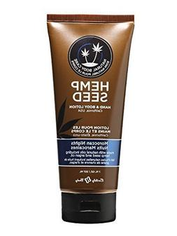 Hemp hand and body lotion moroccan nights 8 oz with pump