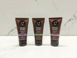 Earthly Body Hemp Seed Hand and Body Lotion Pack of 3 Travel