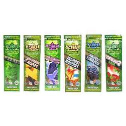 hemp wraps 6 mixed flavors 25 pack