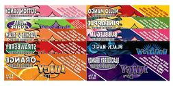Juicy Jays Variety 2 1 1/4 Flavored Rolling Papers Natural H