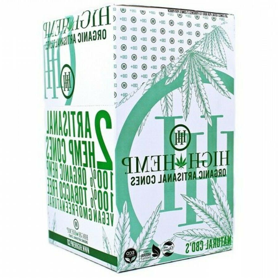 High Hemp Artisanal Organic Cones 30