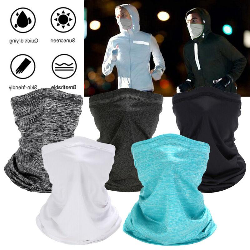 cooling summer thin face mask neck gaiter