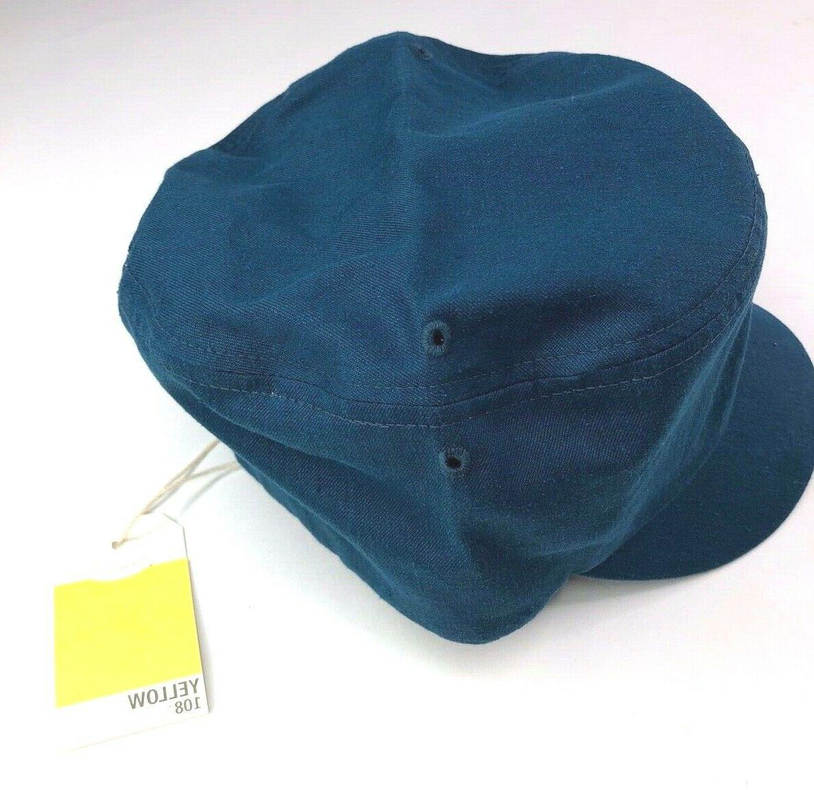 Yellow Curtis Cap Teal Hemp fits all NEW