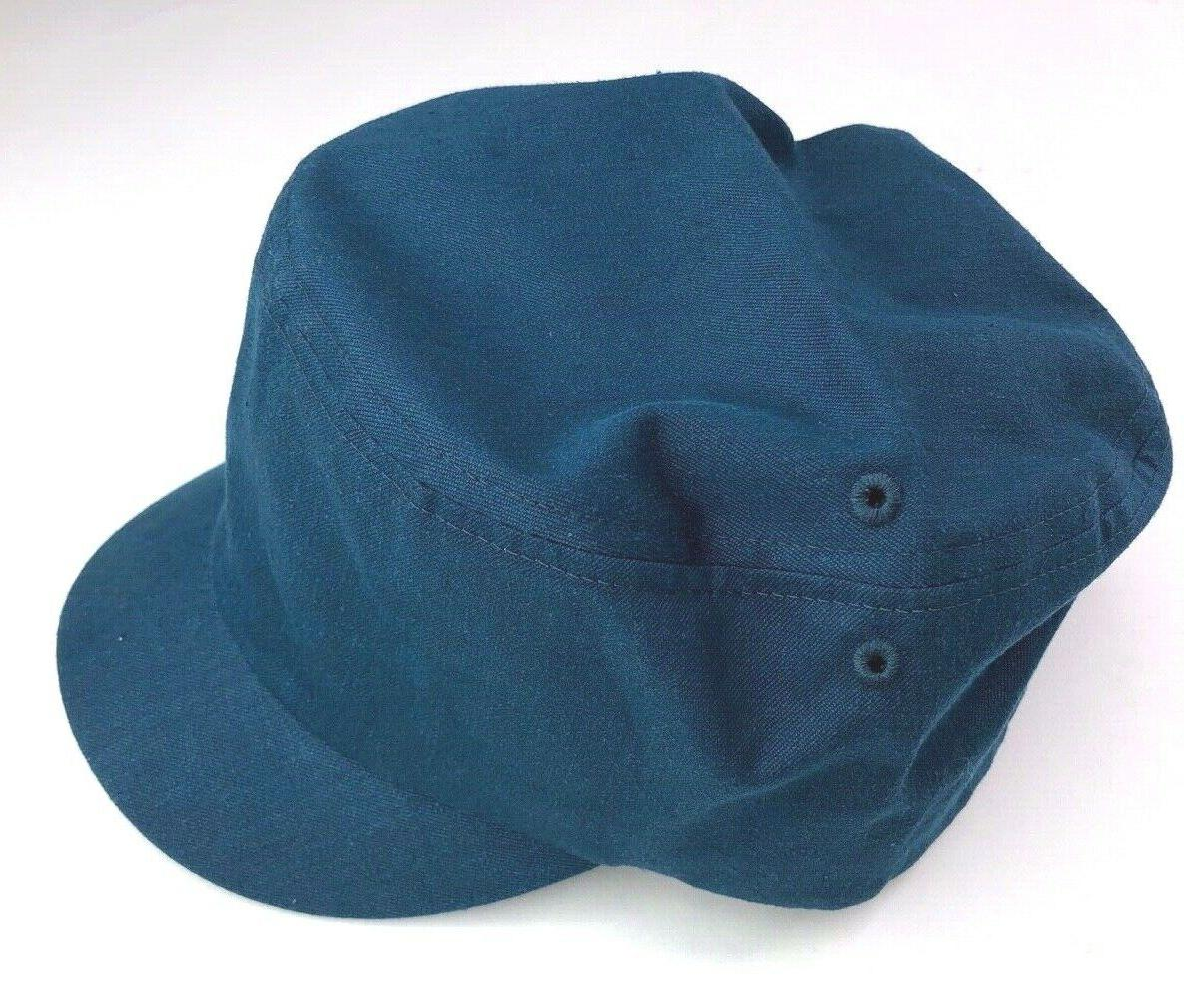 Yellow 108 Curtis Cap Teal Hemp Cotton Hats one size fits NEW