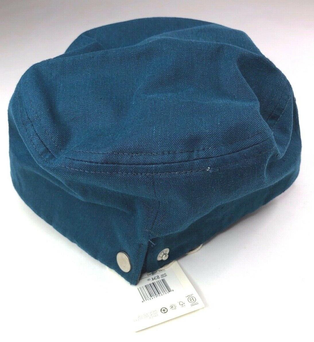 Yellow Cap Teal Hemp Organic Hats Size: one fits all NEW