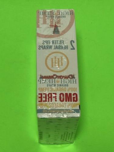 FREE U BUY Dutch High Herbal Natural Organic 50 Wraps 25pks