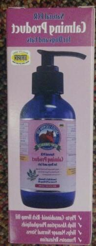 Grizzly Natural PCR Calming Product for Dogs & Cats Hemp Oil