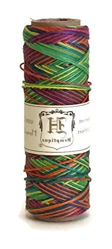hemp cord spool variegated 10