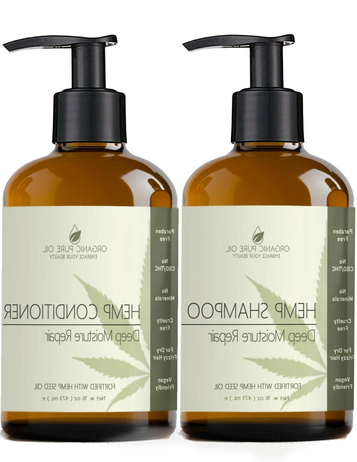 hemp oil extract argan sulfate free natural