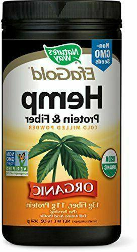 hemp protein and fiber 454 gms by