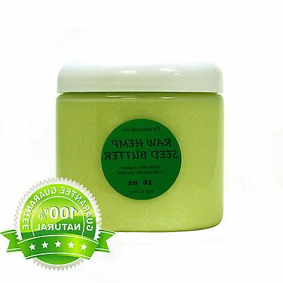 hemp seed butter organic cold pressed 100