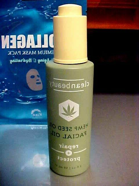 Clean Beauty HEMP OIL Oil and Protect &