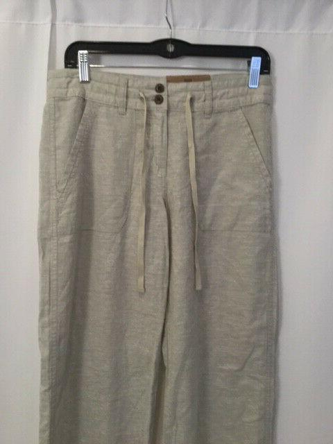 NEW Women's Hemp Pants Stone