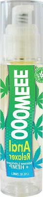 Oooweee Anal Relaxer Silicone Based Lubricant with Hemp 1.7