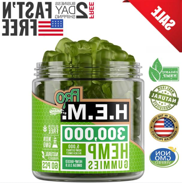 premium hemp gummies 300 000 mg hemp