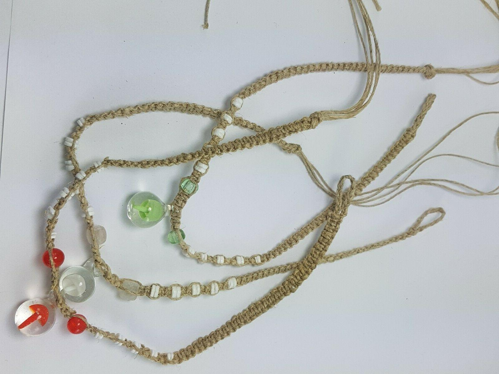 WHOLESALE 12 Necklace with Drop Mushroom Glass