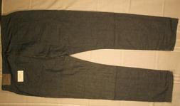 AG ADRIANO GOLDSCHMIED MENS JEANS 40r THE GRADUATE TAILORED
