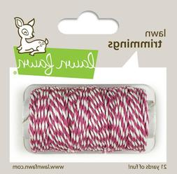 Lawn Fawn ORCHID Lawn Trimmings Hemp Cord 21 Yards