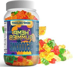 Organic  Hemp Gummies Supplement 30000mg – 60 Count  500mg