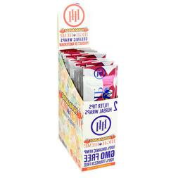 High Hemp Organic Wrap Hubbabubba Full Box 25 Pouches, 2 Wra