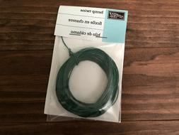 stampin up hemp twine green retired 12