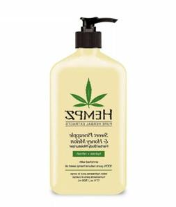 Hempz Pure Hemp Original Herbal Body Moisturizer Lotion - 17